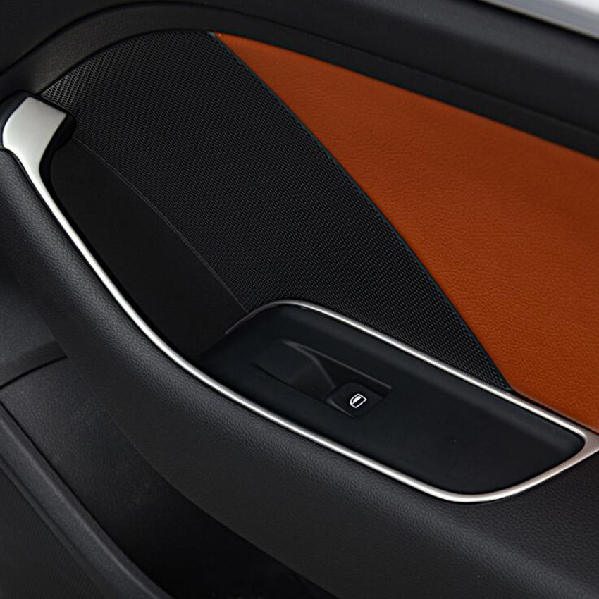 buy yaquicka 4pcs set car interior door handle armrest panel trim styling. Black Bedroom Furniture Sets. Home Design Ideas