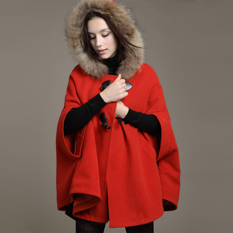Aliexpress.com : Buy 2016 autumn winter elegant winter wool cape ...