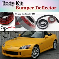 For HONDA S2000 AP1 AP2 S 2000 Bumper Lip Lips / Car Lip Front Spoiler For Car Tuning / TOPGEAR Body Kit + Strip Skirt
