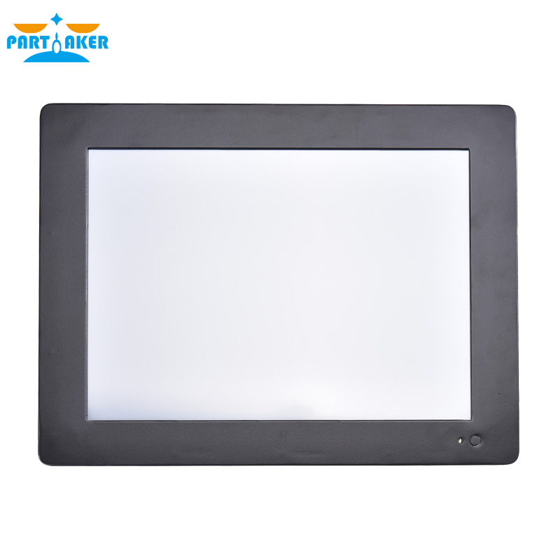 12.1 Inch Intel Core I5 3317U Industrial Touch Panel PC With 4 Wires Resistive Touch Screen Partaker Z7 4G RAM 64G SSD