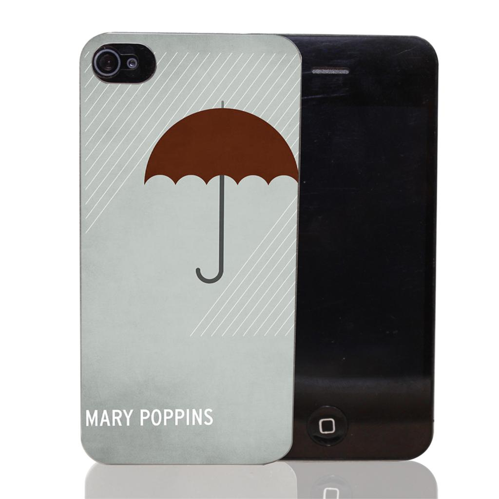 mary poppins Style Transparent Case Cover for iPhone 4 4s 5 5s 5c 6 6s plus 7 7 Plus