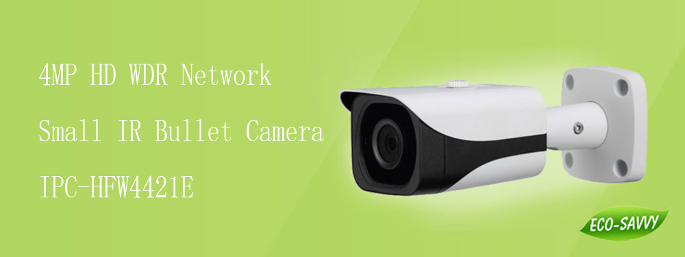 Free Shipping DAHUA IP Camera 4MP Full HD WDR Network Small IR Bullet Camera with 40M IR Distance without Logo IPC-HFW4421E free shipping dahua security ip camera 2mp full hd wdr network small ir bullet camera outdoor camera without logo ipc hfw4221e