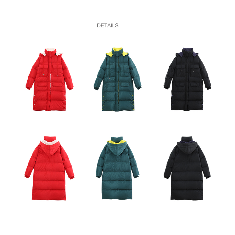 Down Coat Winter Hooded 7