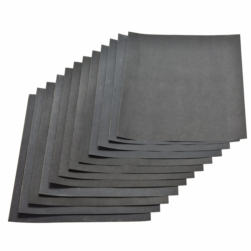 1000#1200#1500#2000# 5pc 28x23cm Waterproof Sanding Paper Wet Dry Polishing Sandpaper Grit Granularity Metal Wood Abrasive Tools