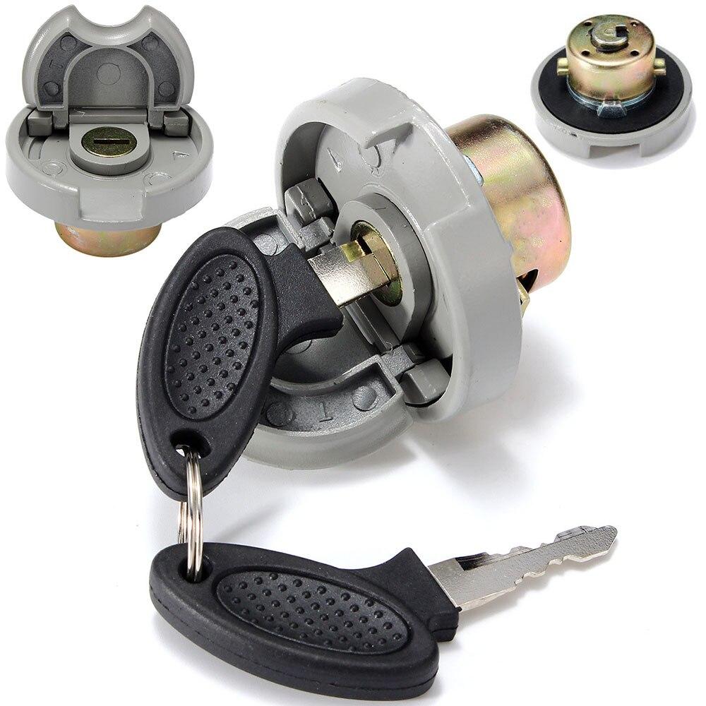 Mayitr 1 satz Hohe Qualität Motorrad Gas Tank Cap Mit 2 Schlüssel Für Roller GY6 4-Hub Honda TAOTAO ROKETATANK GIOVANNI BAJA SUNL