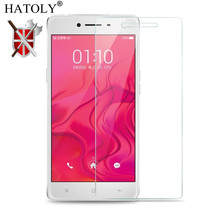 2PCS Screen Protector Glass For Oppo F1 Tempered A35 Phone Film HATOLY