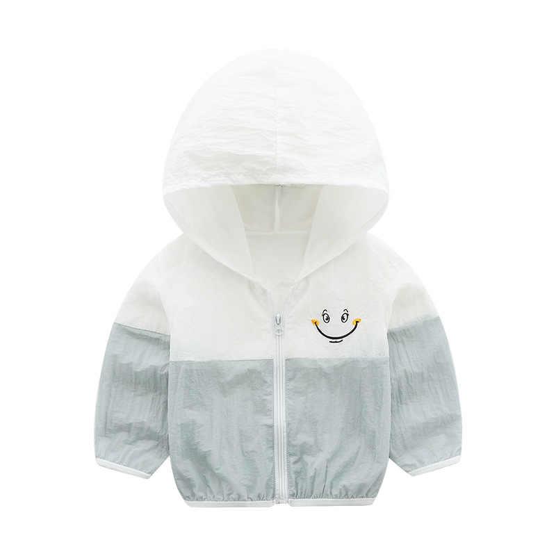 חדש אופנה קיץ אביב תינוק בני בנות בגדי נים שמש הגנת בגדי ילדים מזדמן חוף מעילי מעילים 6 צבעים