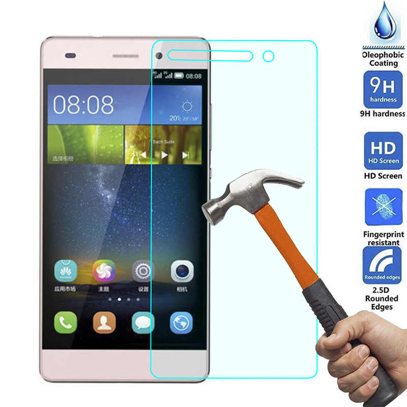 9H Tempered Glass Screen Protector For Huawei G8 G8Mini G7 G9 Plus Lite GR3 GX8 Protective Film For Huawei P7 P8 Lite P8 Mini P9