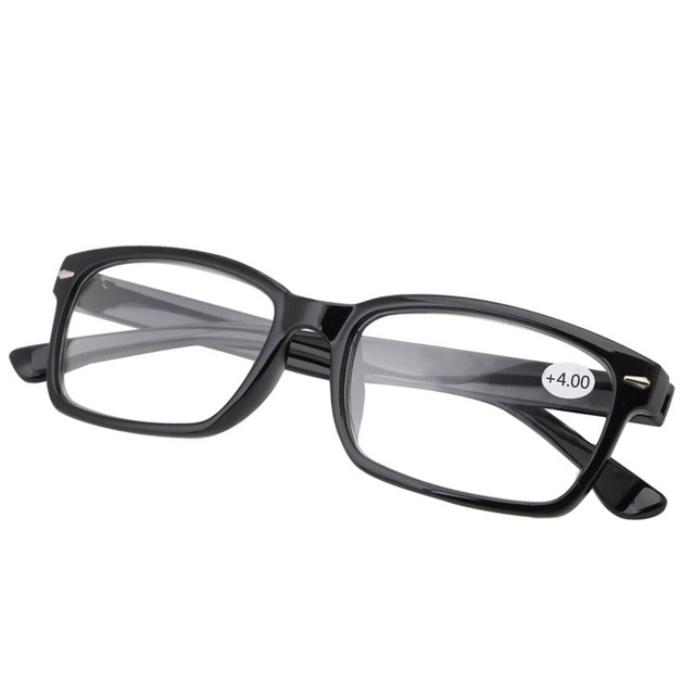 1PC Retro Reading Glasses Resin Eyewear Plastic Frame Eyeglasses 1.0 - 4.0 -Y107