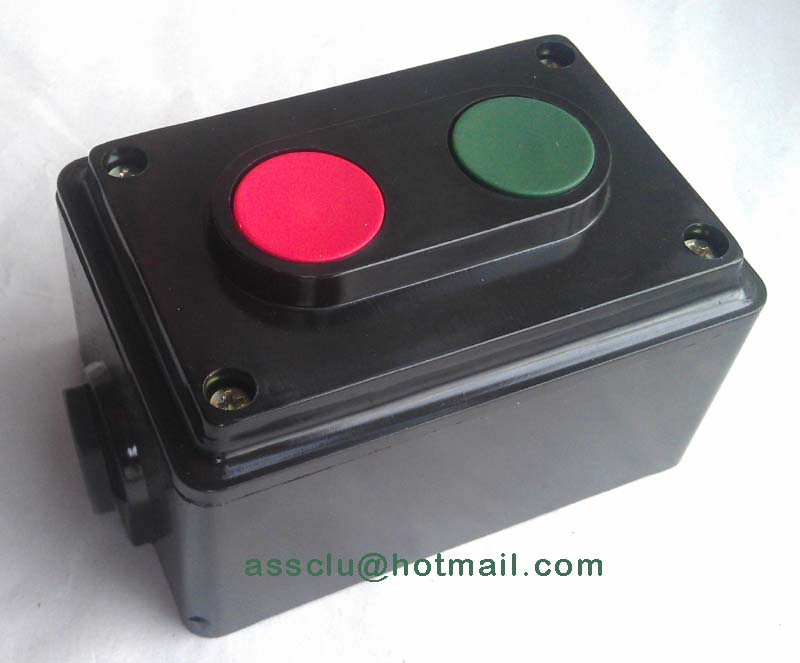 цены 2 Position Switch with mounting box Momentary Pushbutton Switch Control Box AC 380V 10A