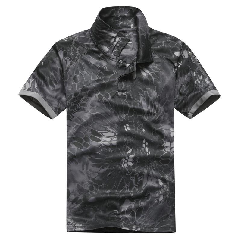 taktiskais militārais krekls vīriešiem python kokvilna ar īsām - Sporta apģērbs un aksesuāri