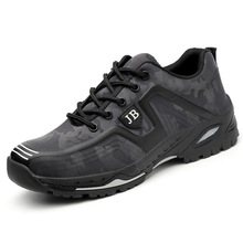 Дышащая тканевая уличная Мужская промышленная Рабочая обувь со стальным носком Мужская защитная обувь с защитой от проколов