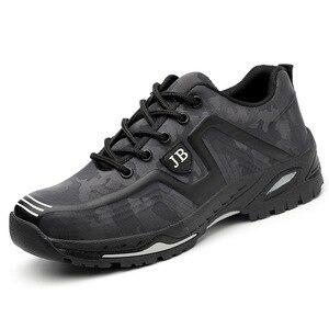 Image 2 - Dropshipping homens e mulheres botas de segurança ao ar livre sapatos masculinos de moda smash proof puncture proof trabalhadores tênis