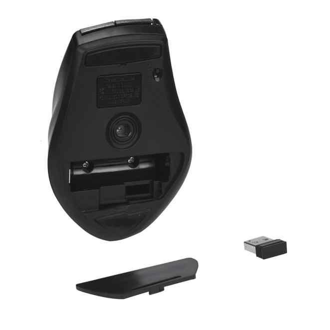 Przenośny 2.4 GHz 6D USB 6 klucz bezprzewodowa mysz optyczna do gier mini mysz 2000 DPI myszy odbiornik USB optyczna mysz do laptopa pulpit PC