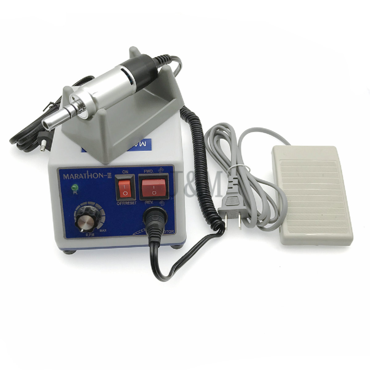 Shiyang Marathon Type N7S S04 Micro Motor with Straight Nose Handpiece/&Contra Angle