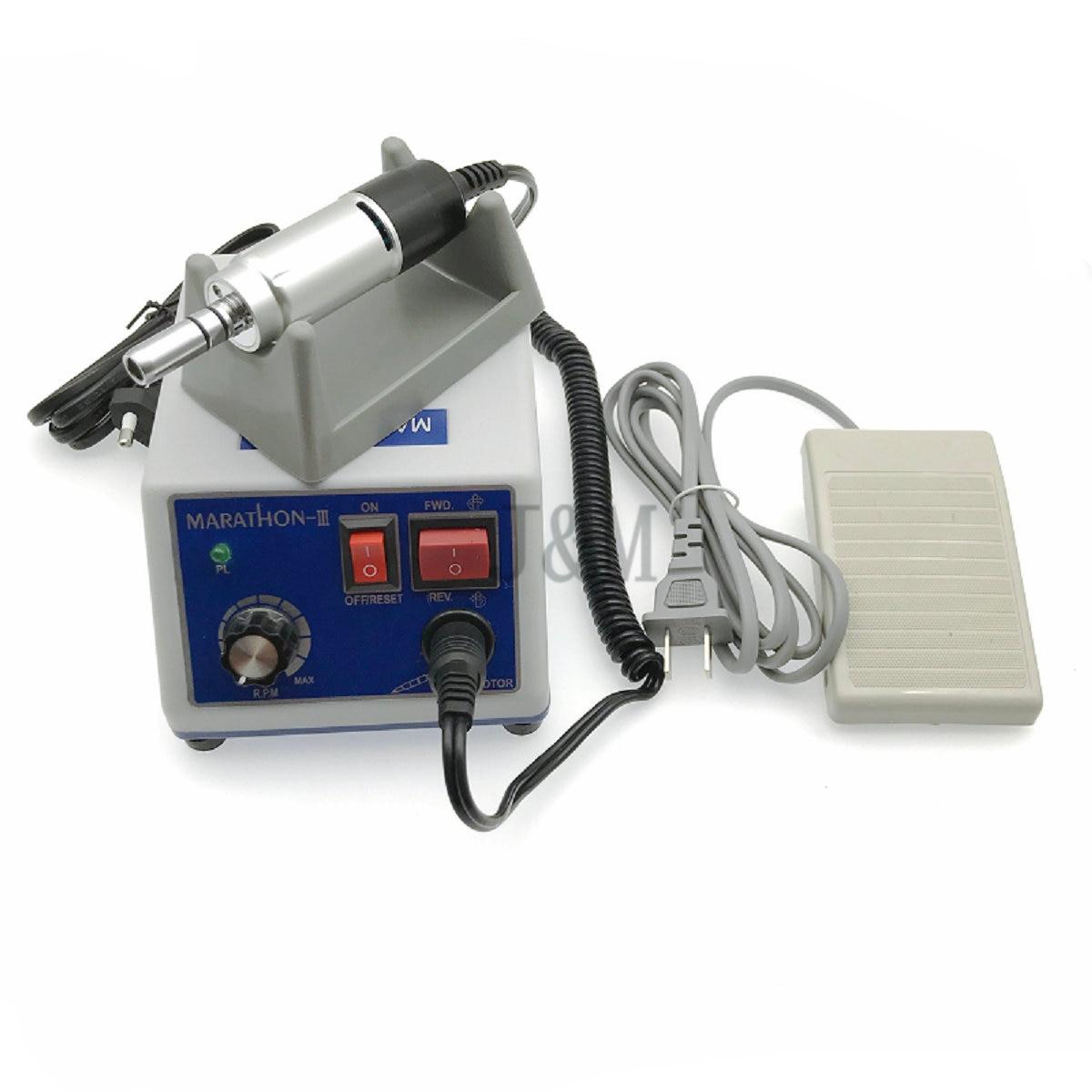 Dental Lab MARATHON Micromotor Machine N3 + Electric Micro Motor dental lab marathon micro motor polishing machine n3
