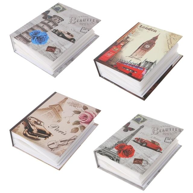 100 Фотографии карманы фотоальбом интерстициальный фотоальбом чехол ребенок памяти подарок