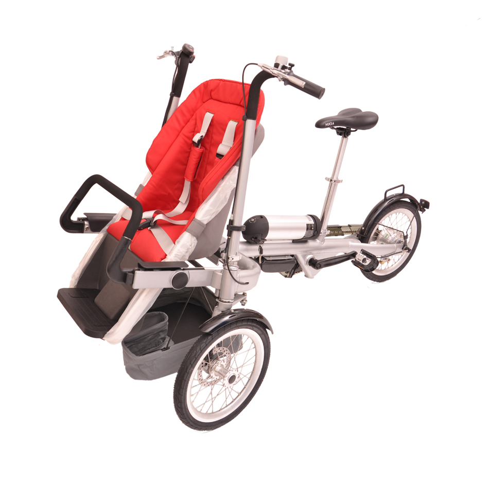 8 Series Thunder Sub-Nucia Electric parent-child bicycle twin baby Stroller Baby stroller bike taga bike ,shimano roller
