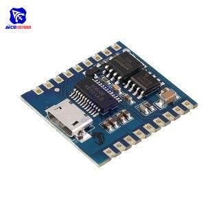 Diymore DY-SV17F аудио модуль мини MP3-плеер 8 бит IO UART триггер Micro USB загрузка 4 мегабайт Flash Voice Module