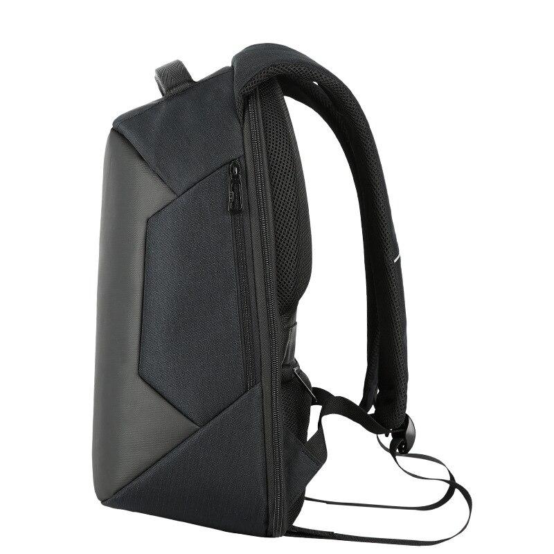HUIMENG marque 2017 nouveau Design hommes sac à dos anti-vol externe USB port de charge pour 16 pouces sac à dos pour ordinateur portable école sac à dos sac - 3