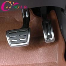 Цвет моя жизнь нержавеющая сталь газ педаль тормоза MT/AT педали чехол для сиденья Ibiza 6K 6L 6J Arosa Cordoba 6K 6L Leon Toledo 1 м