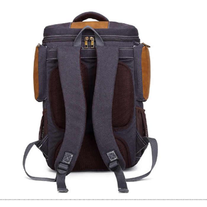 2018 водонепроницаемые брезентовые рюкзаки для ноутбука мужские школьные рюкзаки, сумки для путешествий повседневная сумка женские сумки для отдыха армейский зеленый/хаки