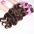 Queen hair onda do corpo brasileiro 3 pacotes bodywave brasileiro virgem grau 7a cabelo brasileiro onda do corpo do cabelo virgem