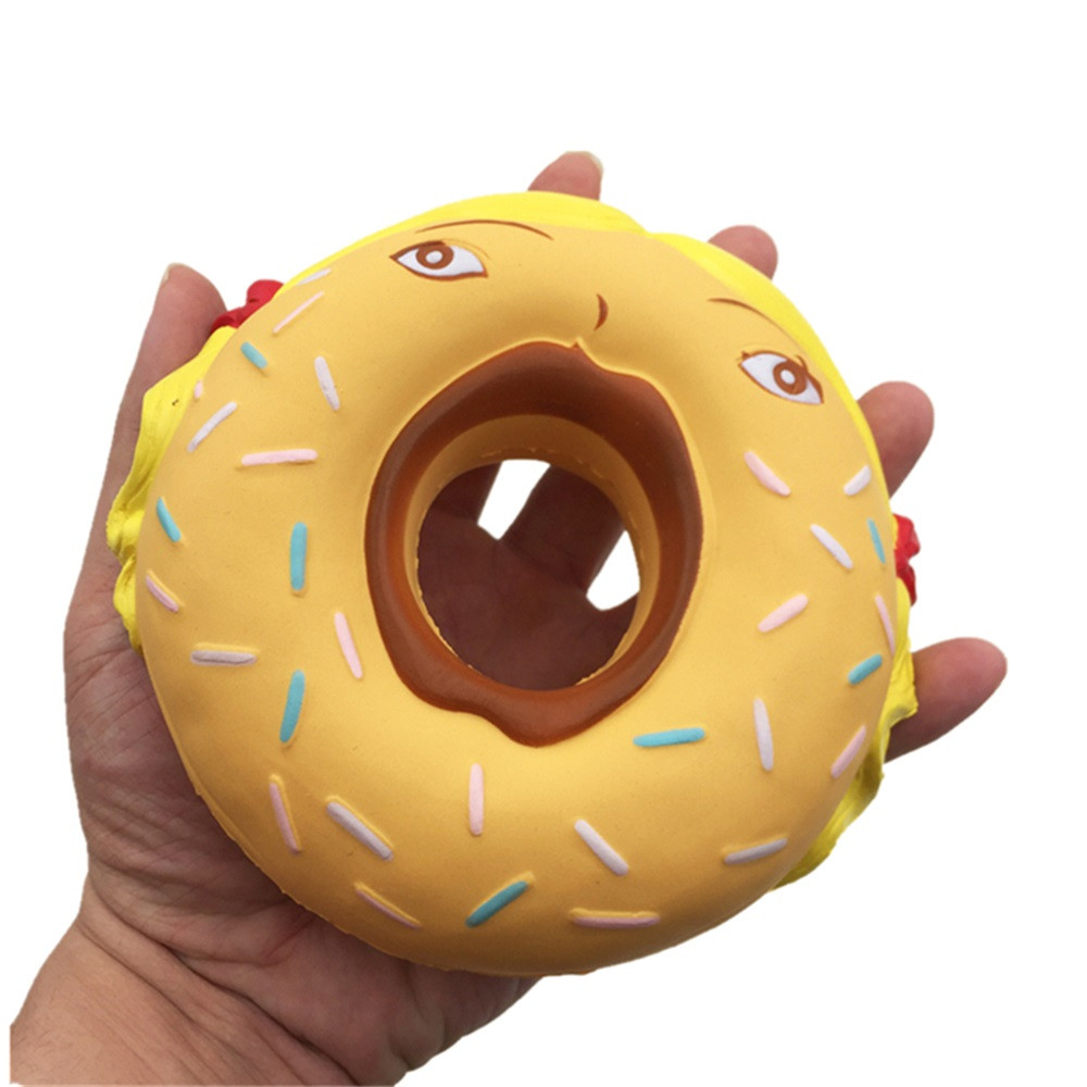 Hot Selling Squishy Girl Donut Super Slow Rising Kid Toy With Decompression Toys Squishy Toy Slow Rising Usps Shipping#jd Attractive Designs; Gags & Practical Jokes