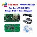 Mais novo V5.008 R2 WoW SNOOPER Com Bluetooth + Único PCB + Keygen Car Truck Ferramenta de diagnóstico com prazo Até 2016 Ano Melhor Do Que TCS CDP PRO