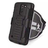 Gym Running Exercise Sport Armband Phone Stand Case Holder COVER For LG G3 G4 G5 K7