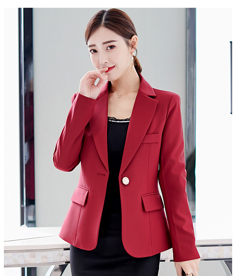 TeapO Womens Irregular Open Front Fashion Suit Jacket Skinny Long Sleeve Coat