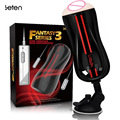 Leten Electric Hip Cup With Vibrate Egg,Manual Pocket Pussy,Real Vagina Hands Free Masturbator Stroker,Sex Toys Products For Man