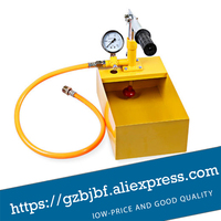 Yellow Manual Water Pipe Pressure Test Pump 25kg