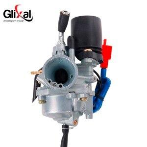 Image 5 - Glixal 1PE40QMB Jog 50cc 72cc 90cc Minarelli için Elektrik Choke ile 19mm Karbüratör 2 İnme 1E40QMB Scooter Moped Carb PZ19J