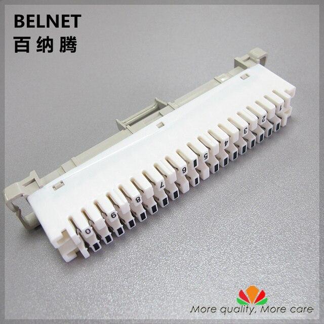 belnet 10 pairs telephone module spring snaps into wiring module rh aliexpress com 110 Block Wiring 110 Block Diagram