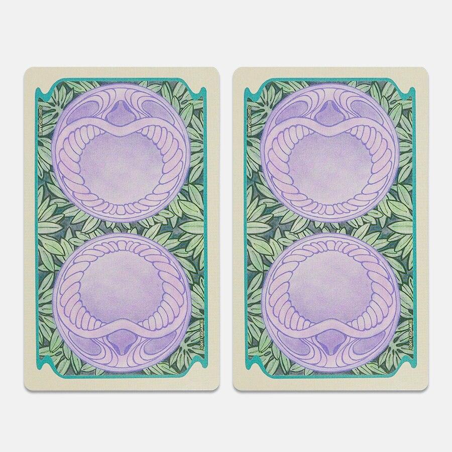 Cartões de jogo de cartas de tarô