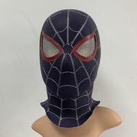 New Avengers Infinity War Superhero Black Spiderman Venom Mask Cosplay Full Head Adult Party Halloween PVC Mask Costume Props