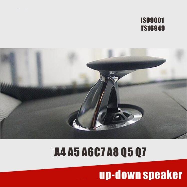Haut-parleur Hausse Tweeter Haut-parleurs pour AUDI A4 A5 A6 A7 A8 Q5 Q7 support de Haut en Bas pour AUDI haut-parleur haut-parleur