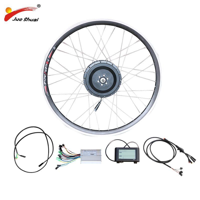 Электрический велосипед задний мотор колеса контроллер Набор для 20 24 26 27,5 700C 29 задний концентратор моторное колесо дисплей для Ebike E Bike