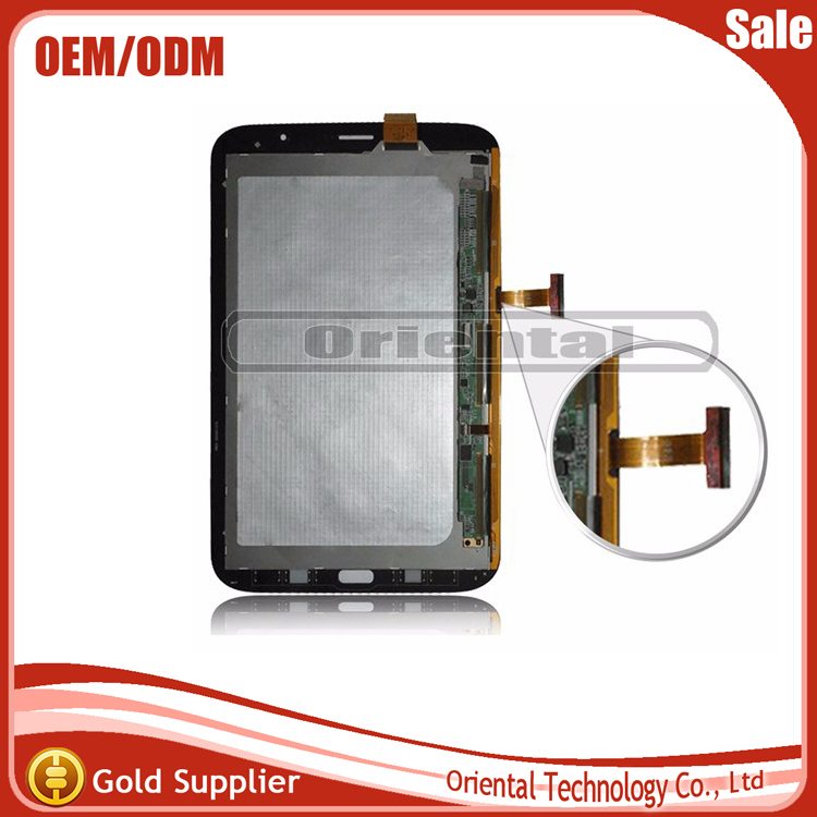 For Samsung Galaxy Note 8.0 N5110 New LCD Display Panel Screen + Digitizer Touch Sreen Glass Assembly Replacement free shipping original 100% test lcd display touch screen digitizer assembly for samsung galaxy note edge n915 white with tempered glass tools