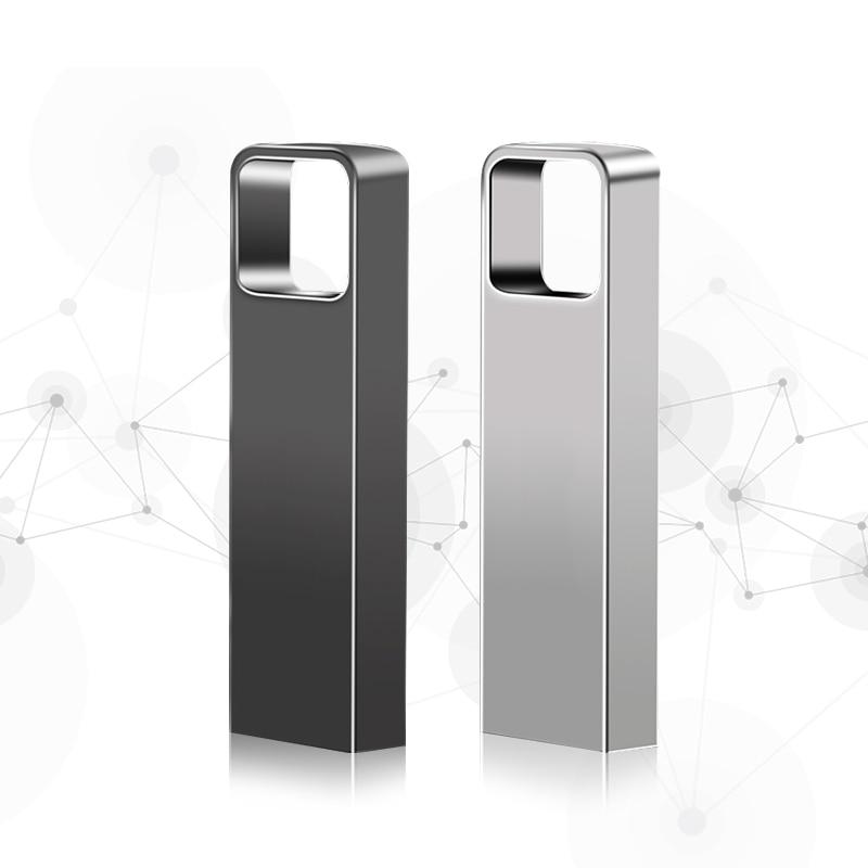 Top qualité métal grand trou logo usb flash lecteur 32gb mémoire stick 64gb usb 3.0 stylo lecteur 128gb haute vitesse pour smartphone