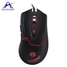 6D Buttons LED Optical USB Gaming Mouse, 3200 DPI laptop Mice wired gamer mause For computer/notebook/ Windows 10/8.1 /mac OS