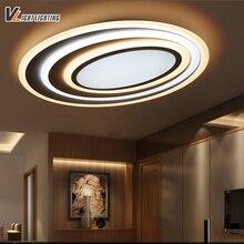 Современные светодиодные светильники потолочные с затемнением + пульт дистанционного управления для спальни гостиной бар кофе дом новый Дизайн потолочный светильник светильники