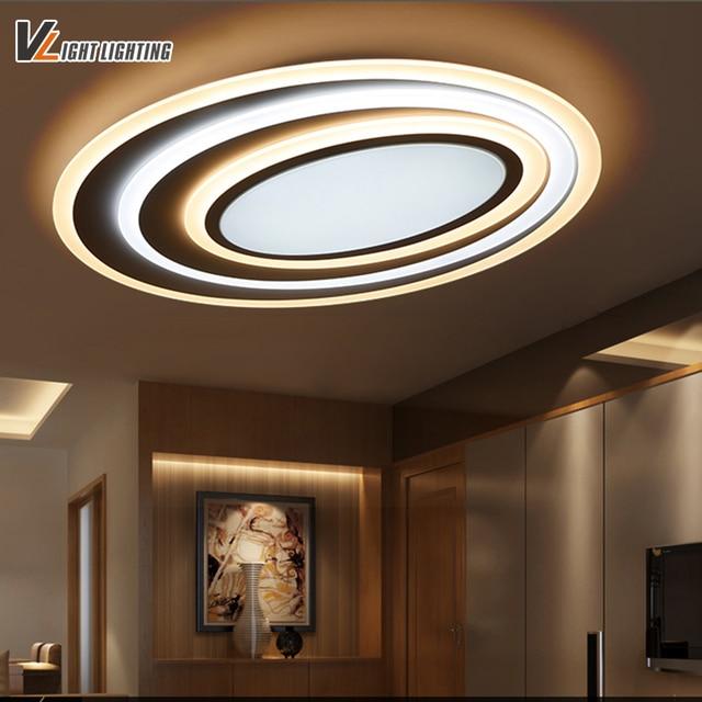 LED Moderne Deckenleuchten Mit Dimmen + Fernbedienung Für Schlafzimmer  Wohnzimmer Bar Kaffee Haus Neue Design Deckenleuchte