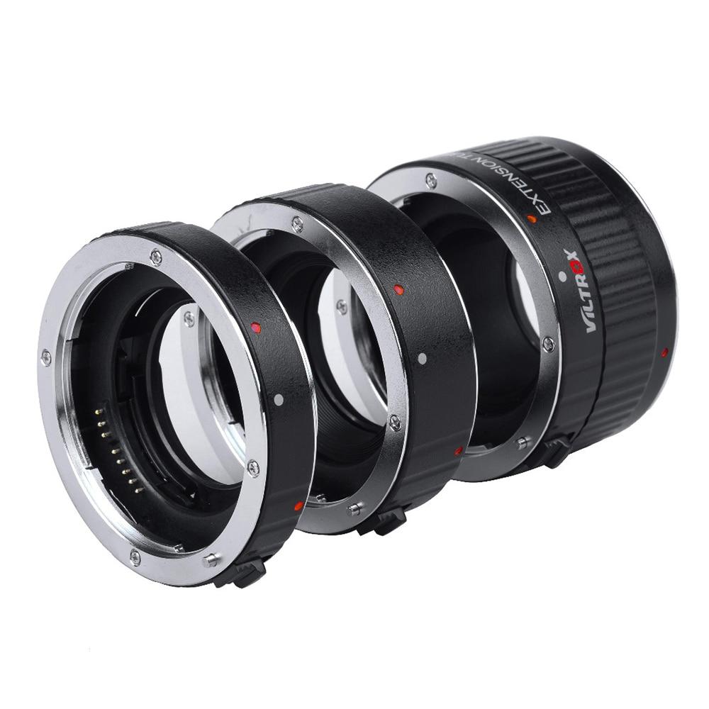 Viltrox Metal Mount Auto Focus AF Macro Extension Tube Lens Adapter for Canon EOS 750D 700D 650D 70D 60D 5D II 7D DSLR