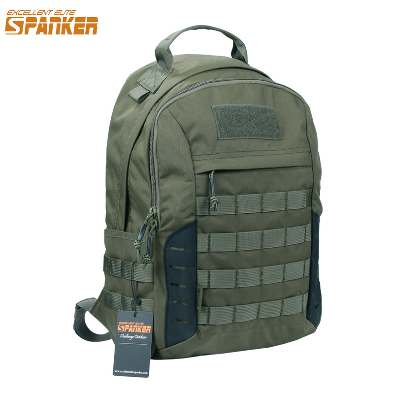 EXCELLENT ELITE SPANKER Outdoor Military Waterproof Travel Backpack Army Tactical Hiking Nylon Bag Molle Hunting Sport Backpack 35l waterproof tactical backpack military multifunction high capacity hike camouflage travel backpack mochila molle system