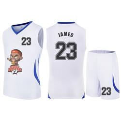 Men's Basketball Jerseys Uniforms Team Sport Tracksuits Suit Shirt and Shorts Cartoon Star