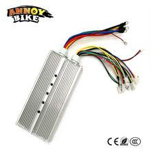 DC Motor Controller Electric Bicycle Accessories 48V60V72V84V96V 2000W 70A Hub Motor Controller 36mosfet Sine Wave Controller