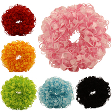 2017 Child Cute Elastics Hair Holders Gum New Fashion Baby Bright Colour Rubber Bands Girl's Headwear Hot Tie Gum 6 pcs/lot