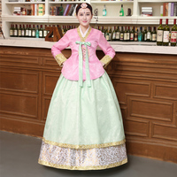 Korean Traditional Hanbok Dress Women Korean Palace Wedding Costume Ethnic Minority Dance Costume Ancient Asian Dress Cosplay 90